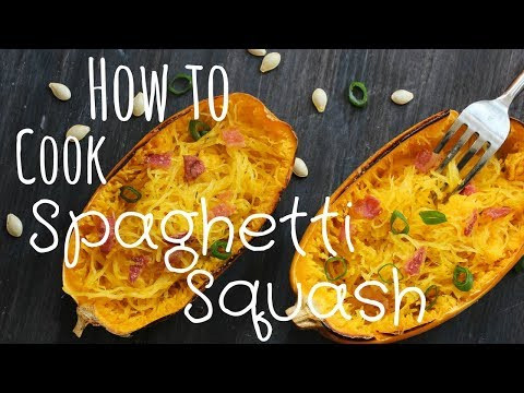 How to Cook Spaghetti Squash (and cut it safely)