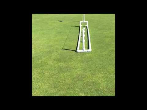 My DIY Golf Perfect Putting Gate
