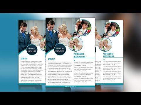 Easy Flyer Design Tutorial - Adobe Photoshop