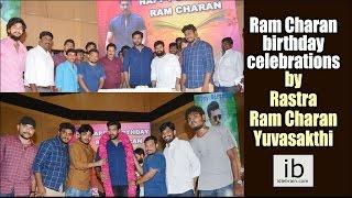 Ram Charan birthday 2017 celebrations by Rastra Ram Charan Yuvasakthi