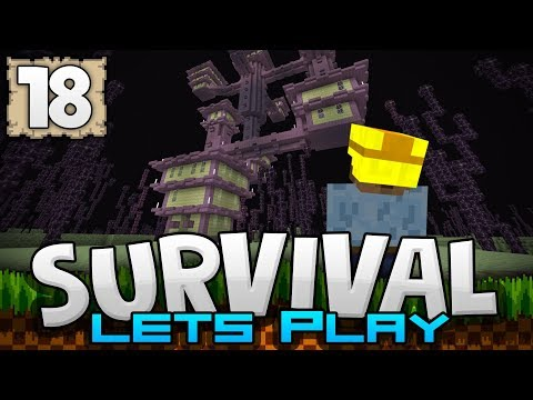 RAIDING END CITIES!!! - Survival Let's Play Ep. 18 - Minecraft 1.2 (PE W10 XB1)