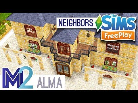 Sims FreePlay - Alma's Church (Neighbor Design)