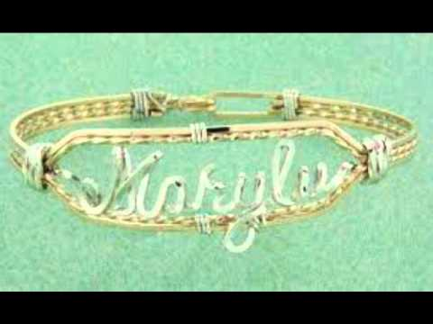How To Make Name Bracelets