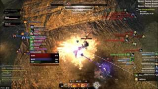 ESO Morrowind Magicka Dragonknight Outnumbered PvP #29 - getplaypk