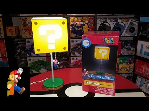 ? Block Lamp from Super Mario + ThinkGeek | Nintendo Collecting