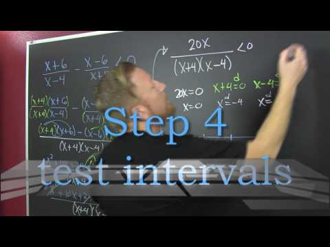 rational inequalities second example