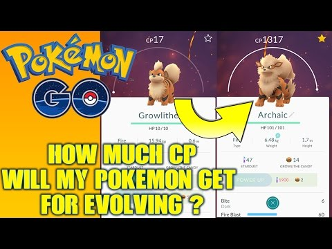 Pokemon GO: How much CP does your Pokemon get when it evolves?