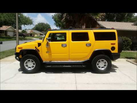 My New To Me Used 2005 Hummer H2