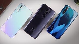 Redmi Note 8 Pro vs Vivo S1 vs Realme 5 Pro | Kaunsa Best?
