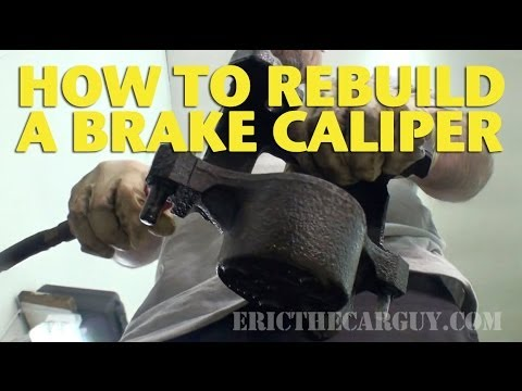 How To Rebuild a Front Brake Caliper -EricTheCarGuy