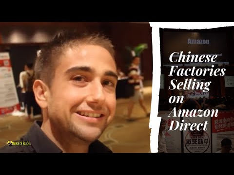 Chinese Factories Selling on Amazon Direct