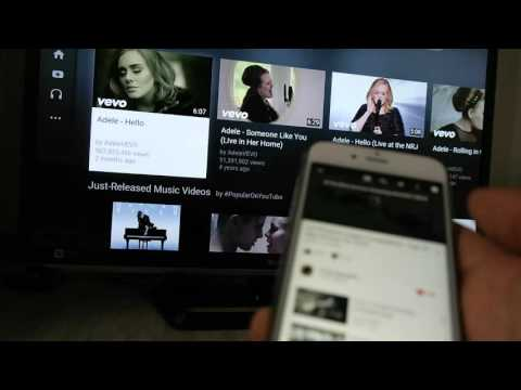 Amazon Fire TV stick mirroring Youtube from iPhone