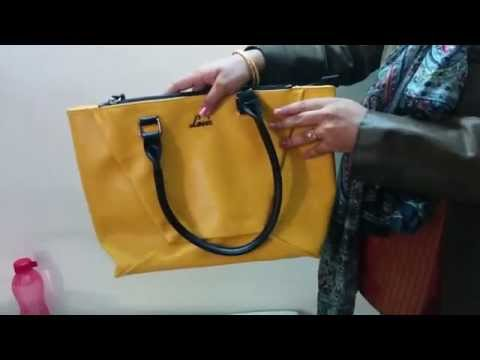 Review of Lavie Tote Handbag bought from Amazon.in