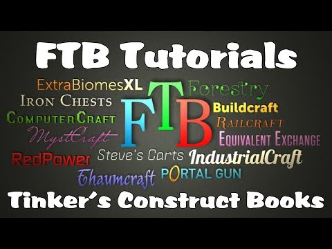 Feed The Beast Tutorials - Tinkers' Construct Books