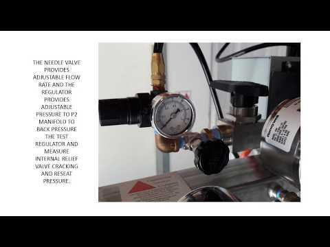 Natural Gas Pressure Regulator Testing, RTM Design Basis