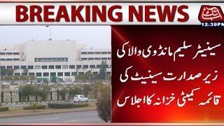 Islamabad: Senator Saleem Mandiwala presides over Senate Standing committee on Finance