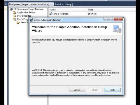 Tenet Technetronics: Make a setup file in Visual Studio 2010