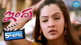 Indra Movie Scenes - Arthi Agarwal Introduction || Chiranjeevi || Sonali Bendre || B Gopal