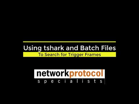 Finding Triggers Packets using Wireshark