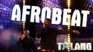 Mandems sjunger afrobeat i Talang 2020