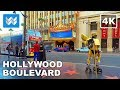 Walking Around Hollywood Boulevard In Los Angeles, California 【4K】 mp3