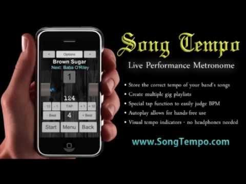 125 BPM Metronome - 10 Minutes Click Track - www.SongTempo.com