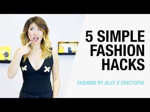 5 Simple Fashion Hacks To Make Your Life Easier | Fashion By Ally x Chictopia