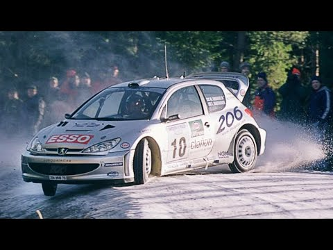 WRC Snow Rally Action with pure engine sounds (2001-2007)
