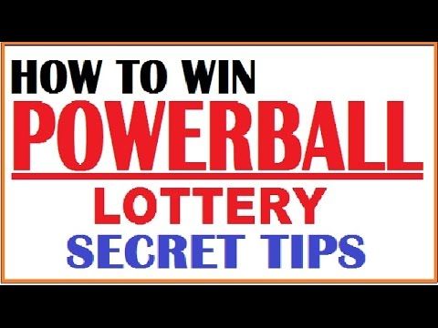How To Win Powerball Lottery Secret Tips