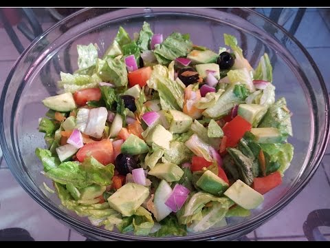 How to make Garden Salad