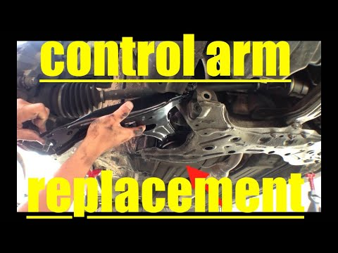 Diagnose Lower Control Arm Replacement '03-'08 Toyota Matrix Corolla √ Fix it Angel