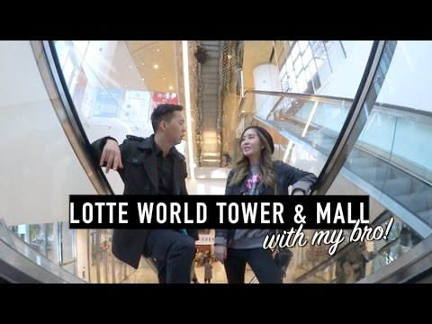 Lotte World Tower & Mall: New Favorite Place in Seoul | JOANDAY #16