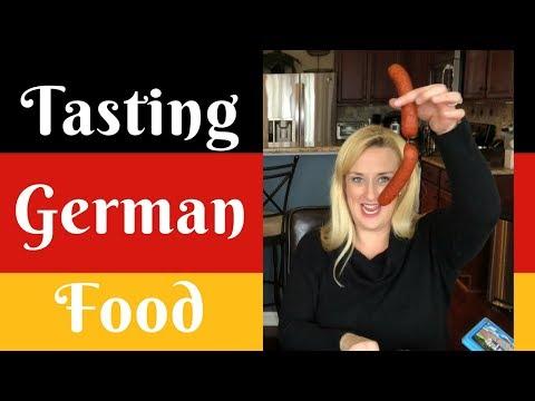 Tasting German Food
