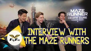 We Speak To The Maze Runners
