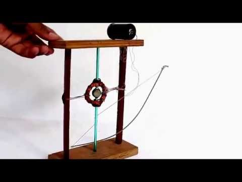 Simple Electricity Generator - By Spinning Magnet | Latest Science Experiment