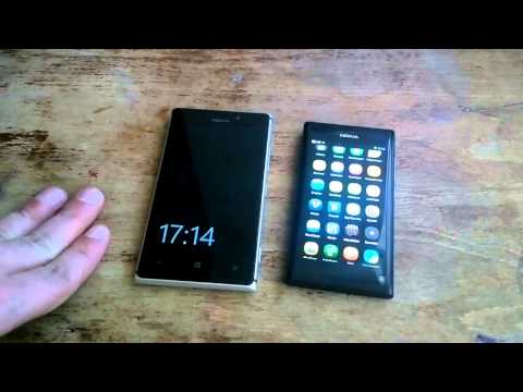 Nokia Lumia925 vs Nokia N9 - две концепции флагманского дизайна
