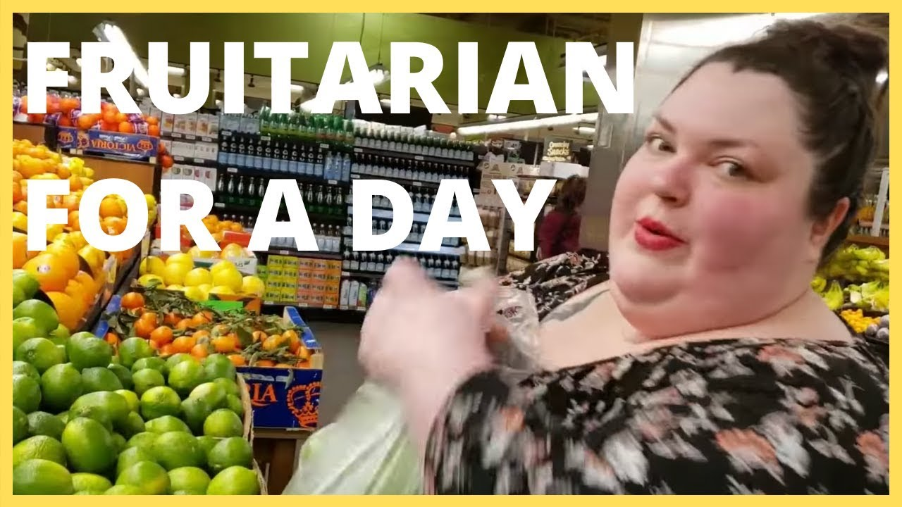 FRUITARIAN FOR A DAY: A Foodie Beauty Story