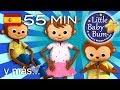 Download Estoy aprendiendo a vestirme | Y más canciones infantiles | ¡55 min de recopilación LittleBabyBum! MP3,3GP,MP4
