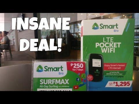 Smart LTE Pocket WIFI Insane Deal!