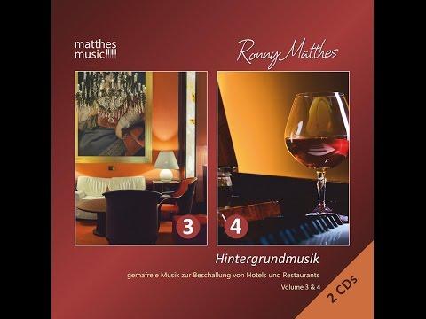 CD: Hintergrundmusik, Vol.  3 & 4 [GEMA-frei | Royalty Free Background Piano Music for Restaurants]