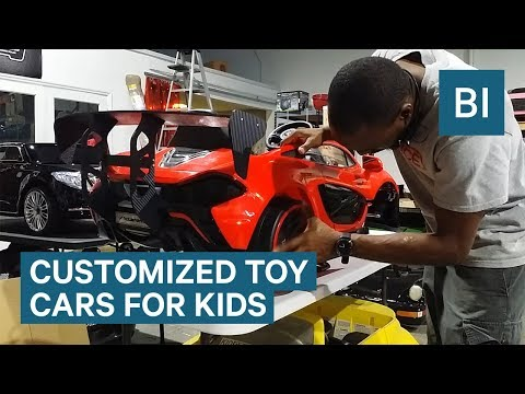This Shop Customizes Toy Cars So Your Kids Can Ride In Style
