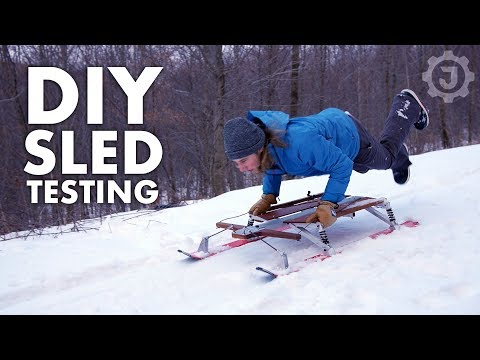World's Best DIY Snow Sled? (4/4)