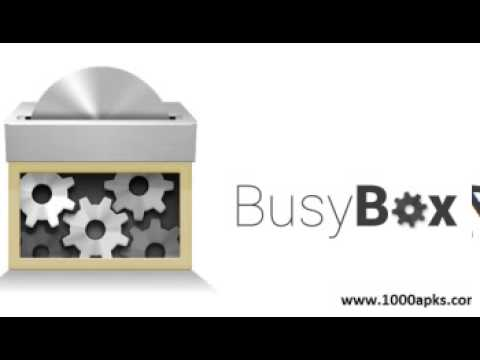 BusyBox 1.8 Pro Apk Full 2015