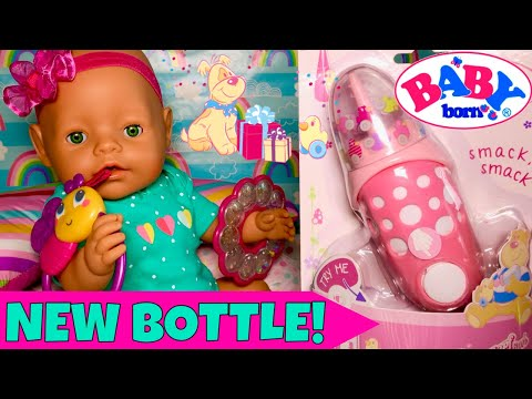 😴Baby Born Nap Routine & Feeding With New Baby Born Interactive Bottle🍼Featuring Baby Born Gemma!