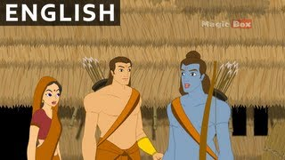 Sita Abducted By Ravana - Ramayanam In English - Animation/Cartoon Stories For Kids