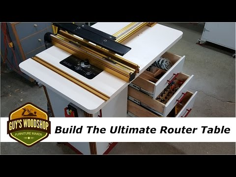 How To Build the Ultimate Router Table with Incra - Pt. 2