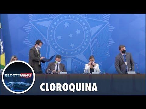 Ministério da Saúde libera uso da cloroquina também em casos leves da Covid-19