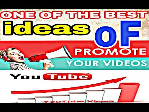 How to promote your YouTube video