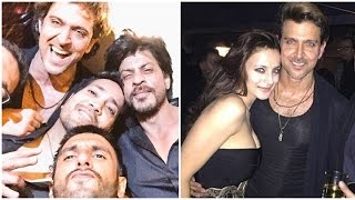 Kabil Movie actor Hrithik Roshan Full Birthday Party 2017 | Sussanne Khan celebrated together
