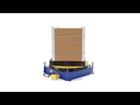 Stand Alone Powered Carousel STPC-EHD